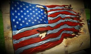 Worn_American_Flag